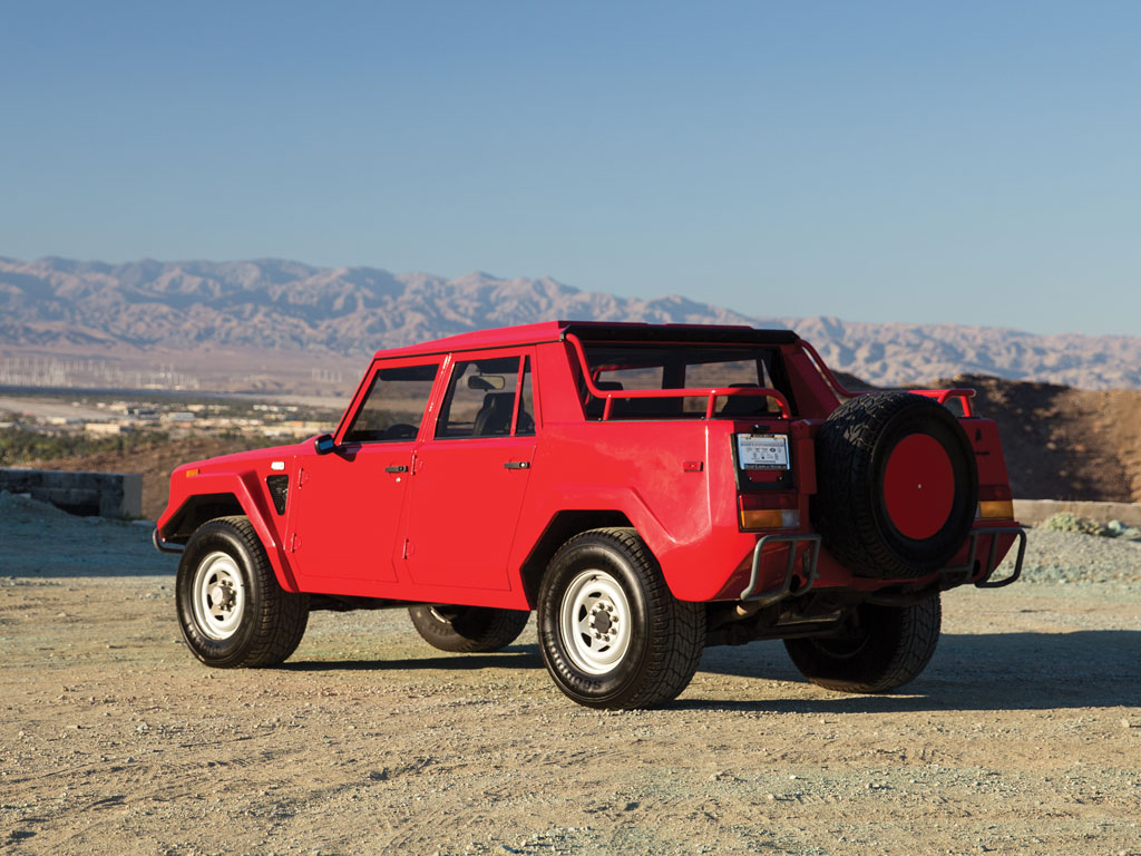 1989 Lamborghini LM002 For Auction 02