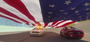 2014 Ford Championship Weekend Flag Pull EcoBoost 400
