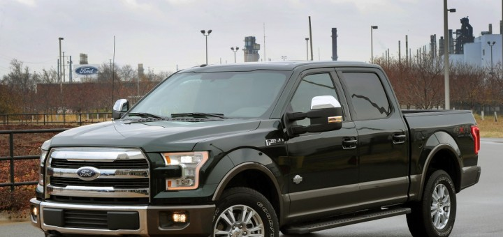 2015 Ford F-150 Starts Production