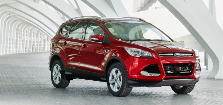 2015 Ford Kuga Ruby Red