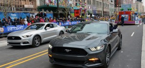 2015 Ford Mustang at the 2014 Thanksgiving Parade 04