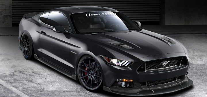 2015 Mustang Hennessey HPE700 A Super-GT350