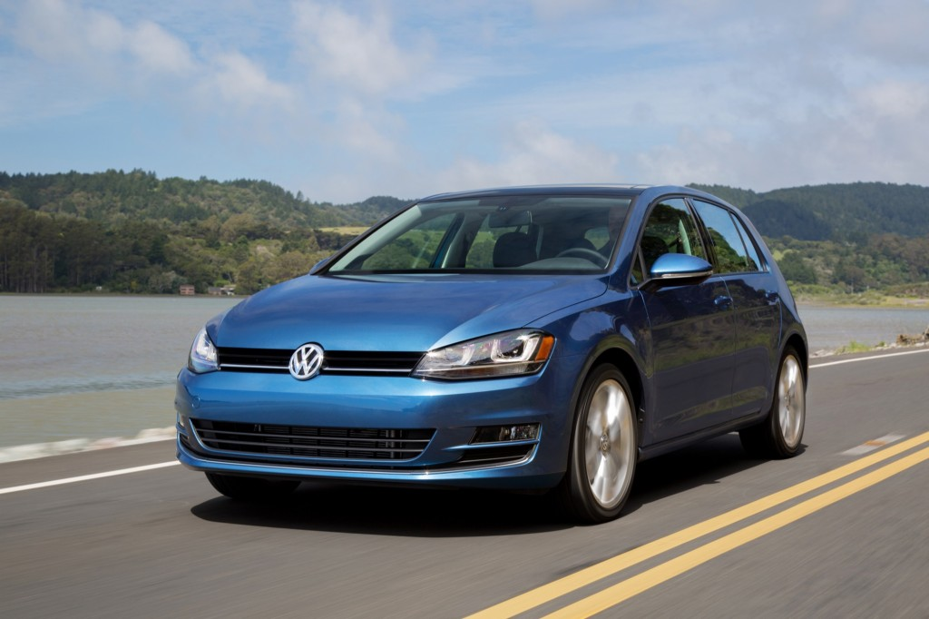 2015 Volkswagen Golf TSI five-door