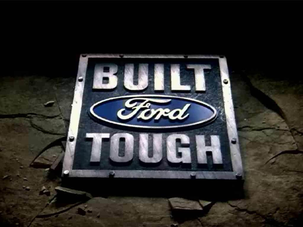 "Last-Generation ""Built Ford Tough"" Shield Logo"