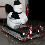 One Cool Ride Snowman