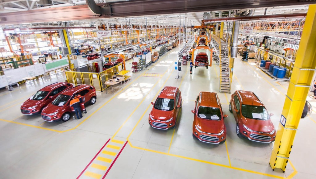 Ford EcoSport Russian production