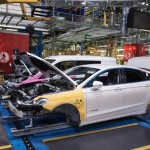 Ford Mondeo Hybrid Production Start Valencia Spain 03