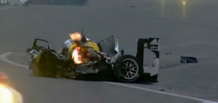 Porsche 919 Mark Webber WEC crash