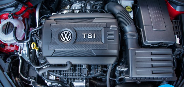 Volkswagen 1.8L Turbo EA888 TSI Engine in 2015 Golf TSI