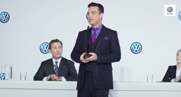 Volkswagne Robbie Williams Press Conference 01