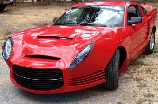 Custom Ford Mustang Receives Unusual Exterior Mods