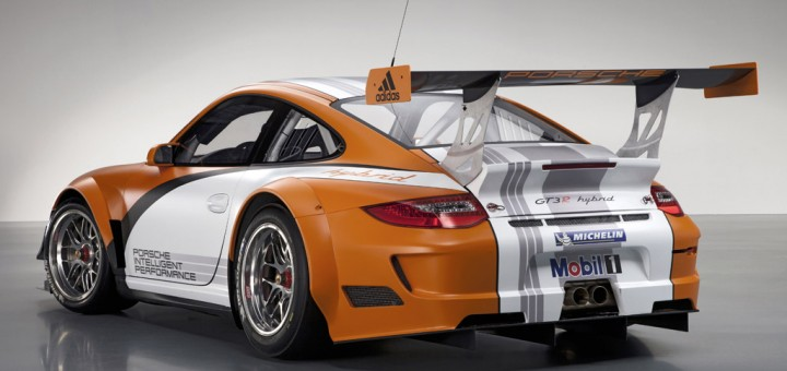This Porsche 911 GT3 R Hybrid, unveiled at Geneva in 2010, is largely responsible for initiating speculation.