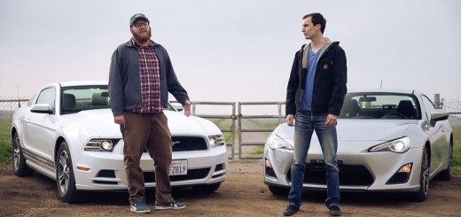 Car Bros Ford Mustang vs. Scion FR-S