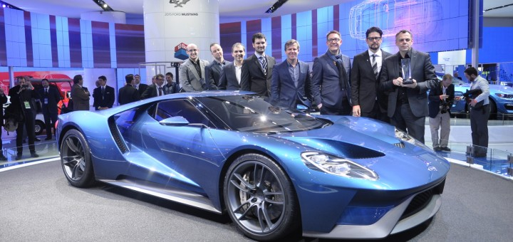 Ford GT EyesOn Design Award 2015 NAIAS