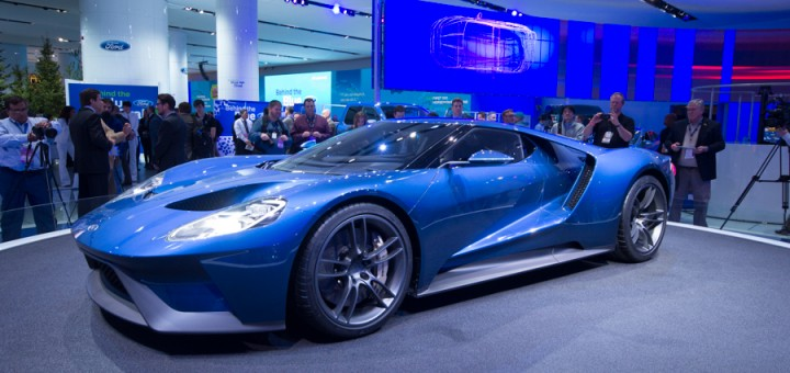 NAIAS 2015 Ford GT
