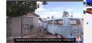 VW van restored by Arizona Volkswagen Club