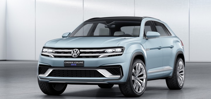Volkswagen Cross Coupe GTE Concept 01