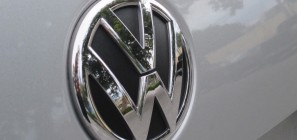 Volkswagen logo on 2012 Jetta 01