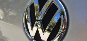 Volkswagen logo on 2012 Jetta 05