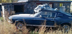 1967 Ford Mustang Shelby GT500 Barn find