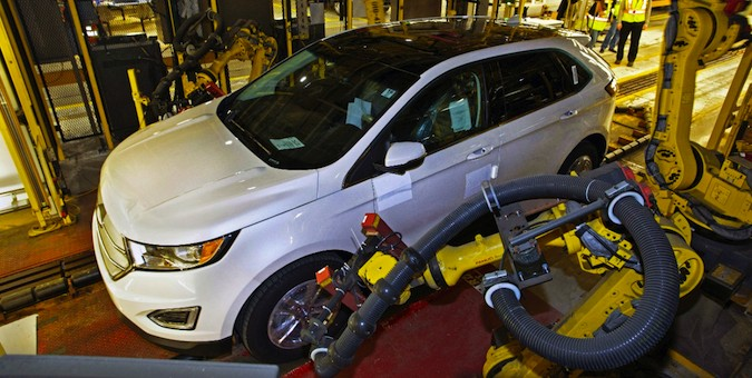 2015 Ford Edge Production Oakville Ontario