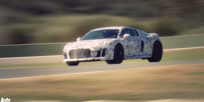 2016 Audi R8 On Board Driving Video