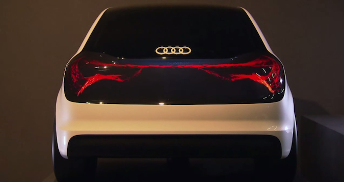 New Audi Lighting Is Both Beautiful And Functional: Video ...