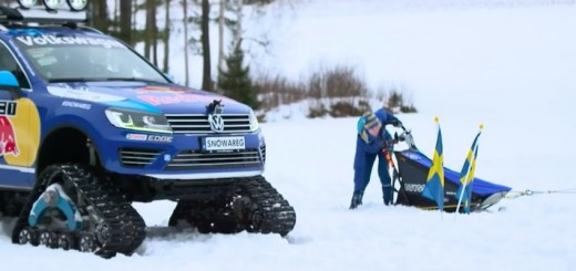 Driversity Episode 1 - Volkswagen Snowareg vs. Sled Dog Racing Team 05