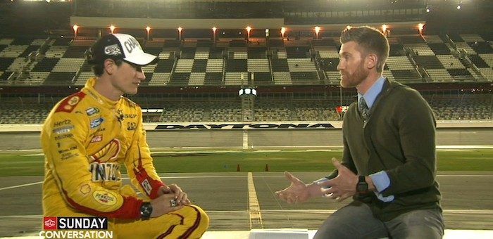 Joey Logano Daytona 500 Video