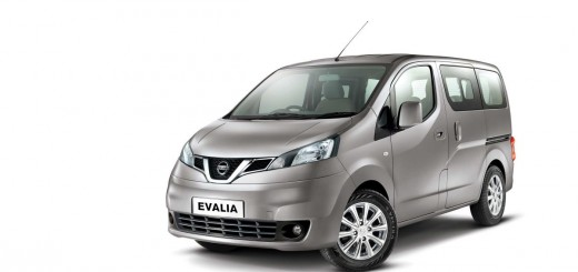 The Nissan Evalia van sold in India