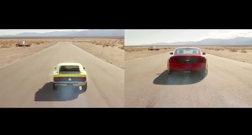 1970 Boss 302 & 2015 Ford EcoBoost Mustang 02