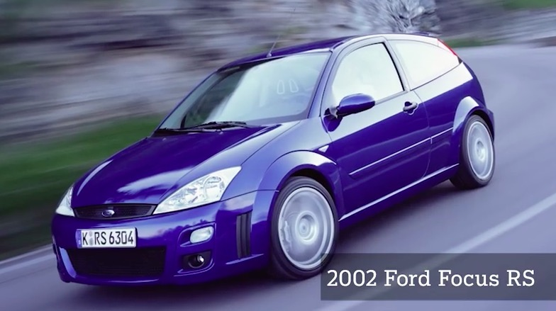 The Ford Rs Throughout The Years Video