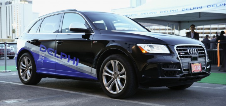 2014 Audi SQ5 Delphi Autonomous Vehicle 01