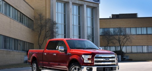 2015 Ford F-150 Kansas City Assembly Plant - Job One - Truck 1