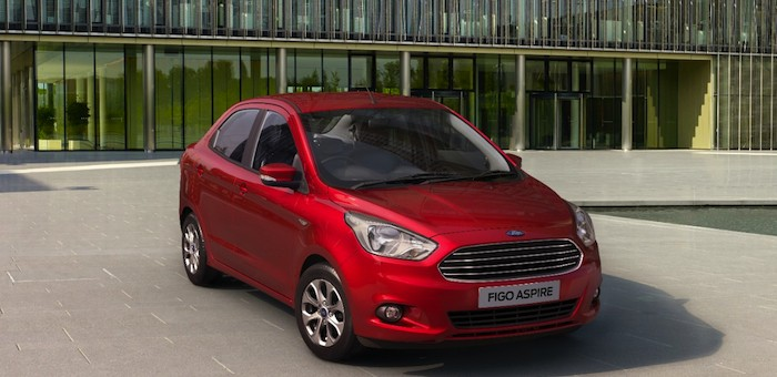 2015 Ford Figo Aspire Official