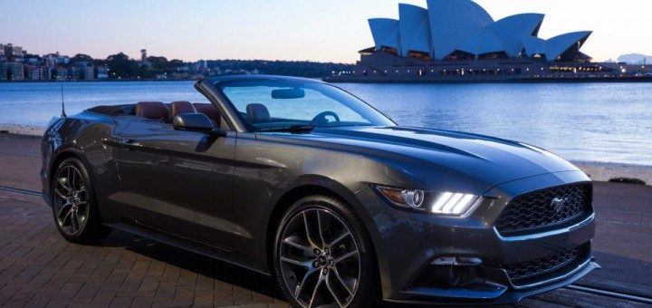 2015 Ford Mustang in Australia