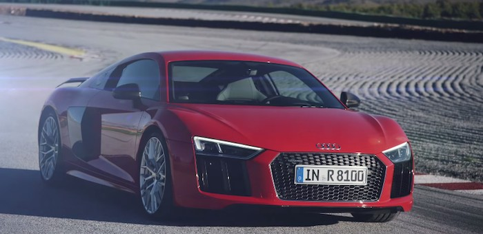 2016 Audi R8 Track Driving Video