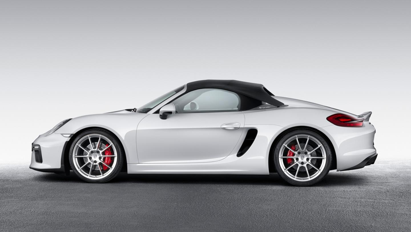new 2016 porsche boxster spyder announced motrolix. Black Bedroom Furniture Sets. Home Design Ideas