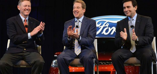 Alan Mulally, BillFord, and Mark Fields
