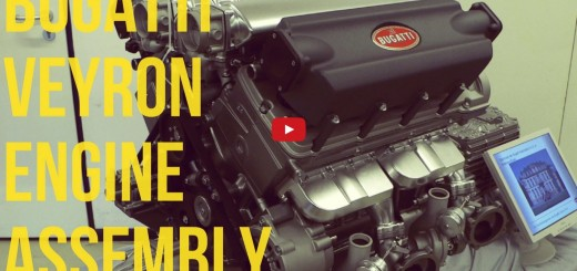 Bugatti Veyron Engine Assembly video
