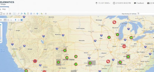Ford Telematics Map View