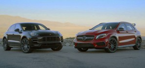 Porsche Macan Turbo S-vs-Mercedes GLA45 AMG