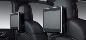 Porsche rear seat entertainment