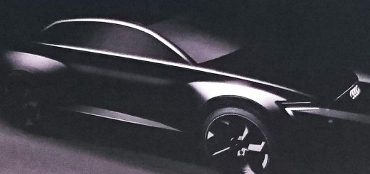 Possible Audi Q6 Teaser Shot