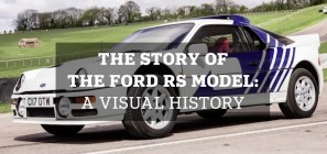 The Story of the Ford RS Model - A Visual History