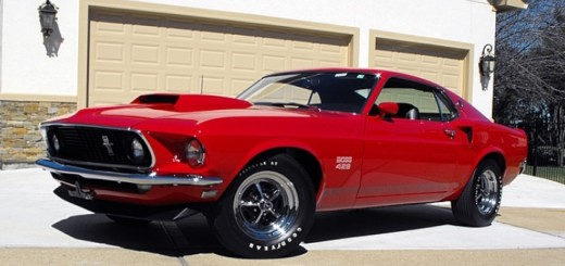 1969 Ford Mustang Boss 429 Fastback Mecum Auction