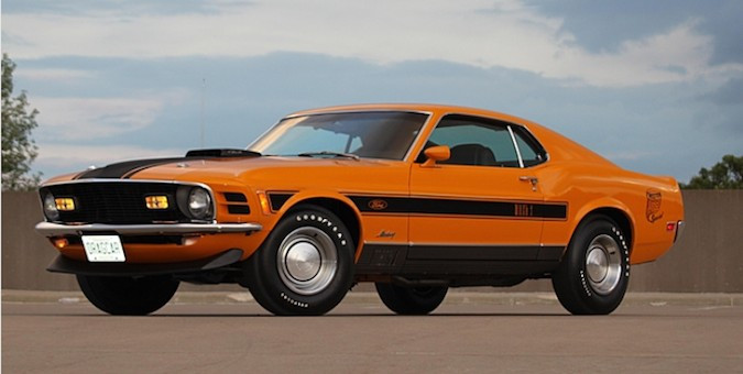 1970 Ford Mustang Mach 1 'Twister' Is A Numbers Matching Anomaly