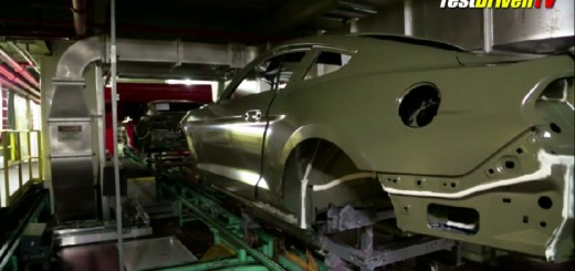 2015 Ford Mustang paint process