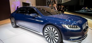 2016 Lincoln Continental Concept NYIAS