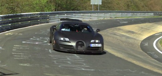 Bugatti Chiron Test Mule at the Nurburgring